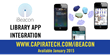 Capira Technologies Announces iBeacon Integration for Library Apps
