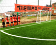 artificial turf, synthetic turf, sports turf, football turf, football pitch, colombia, youth sports, youth football