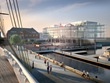 National Coast Guard Museum Exterior Rendering with Pier