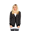 Choose Your Destiny. Light side or dark side? Wearing this Star Wars symbol cardigan from Her Universe will bring balance to the Force and offer a constant reminder to choose your destiny.