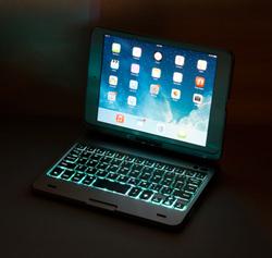 iPad Mini G2 Flip Turn Keyboard Case