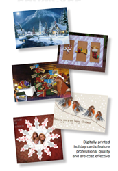 Custom Digital Holiday Greeting Cards