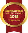 2015 Winnipeg Consumer Choice Award Winners