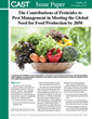 New CAST Issue Paper: The Contributions of Pesticides to Pest Management in Meeting the Global Need for Food Production by 2050