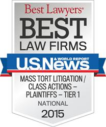 National Tier 1 - Mass Tort Litigation/Class Actions - Plaintiffs