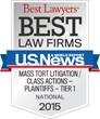 New Jersey Law Firm Receives Tier 1 National Ranking by Best Lawyers