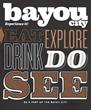 Bayou City Magazine's launch cover