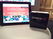 Lintelus' Internet Appliance is a small 4 inch square server to ensure a secure meeting or event