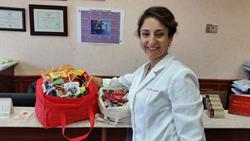 Maspeth dentist Dr. Alexandra Khaimov Took a Stand Against Sweets This Halloween