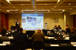 Picture of Edward Parkinson, Director of Government Affairs, First Responder Network Authority (FirstNet), at National Public Safety Broadband Network (NPSBN) Event
