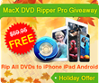 MacXDVD Gives away 10k Copies of MacX DVD Ripper Pro to Celebrate 2014 Thanksgiving