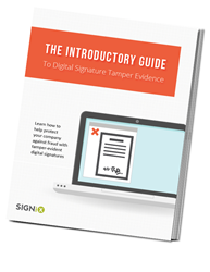 "SIGNiX Publishes ""The Introductory Guide to Digital Signature Tamper Evidence"""