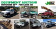 Public Auto and Equipment Auction, Portland, OR, November 20, 2014