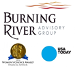 Burning River Advisory Group Receives the Women's Choice Award for...