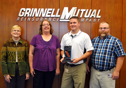 Grinnell Mutual Reinsurance Company; farm insurance; auto insurance; farming; agriculture; safety; loss prevention; Grinnell Mutual; Policy of Working Together; Manage My Account; Applied IVANS Interface Leadership Award; Applied Systems; myGrinnellMutual