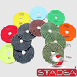 Diamond Polishing Pads Wet - STADEA Series Super B - Granite Concrete Stone Polishing