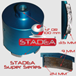 Diamond Hole Saw Core Bit - STADEA Series Super A For Concrete Masonry Coring