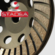Diamond Cup Grinding Wheel - STADEA Series Super A Concrete Stone Grinding