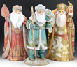 One of a kind hand crafted Russian Santas from www.santas.com