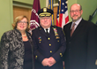 Left to right: Ossining Town Supervisor Sue Donnelly, Village Police Chief Joe Burton, and Village of Ossining Mayor William Hanauer