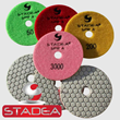 Diamond Polishing Pads Dry - STADEA Series Super A - Granite Marble Concrete Polishing