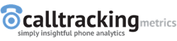 CalltrackingMetrics logo, Leaders in call tracking