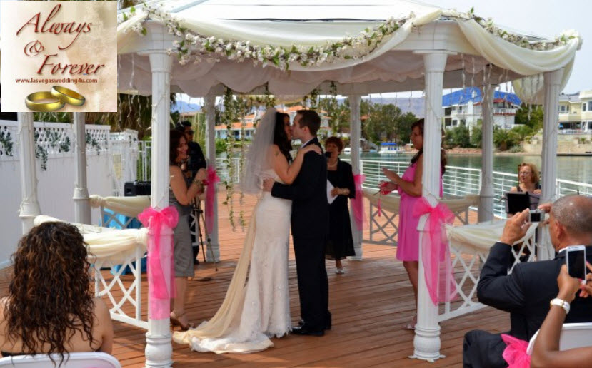 Wedding Venue In Las Vegas Always And Forever Extends Lakeshore Reception Package