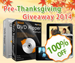 Digiarty Steers to Thanksgiving Giveaway Starting with 100% off WinX DVD Ripper Platinum