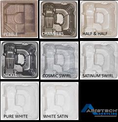 Aristech Acrylics 2015 Hot Tub Colors