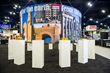 The historic brick display from Acme Brick Company at the 2014 TSA Convention in Houston.