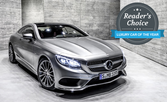 wins 2015 autoguide   reader s choice luxury car of the year award