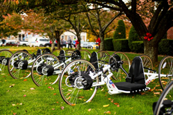 Donated Handcycles for Warriors