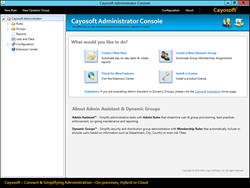 Cayosoft Administrator provides the ability to assign and report user resources such as Office 365 Licenses.