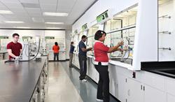 Butler University using Erlab GreenFumeHood Technology