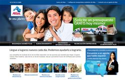 Atlas Van Lines' New Spanish Site