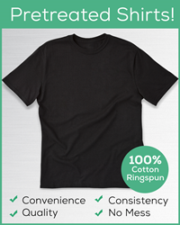 Pretreated T-shirts simplify Direct to Garment Printing