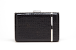 Jill Milan Laurel Canyon Clutch, black