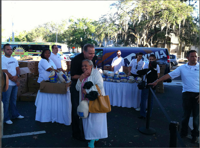 FREE TURKEY GIVEAWAY IN WEST PALM BEACH
