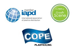 Cope recognized for efforts in recycling, education, marketing and more by the IAPD