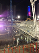 The underground structures were recently completed; construction of the above-ground buildings is not yet in full swing.