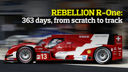 REBELLION R-One: 363 days, from scratch to track