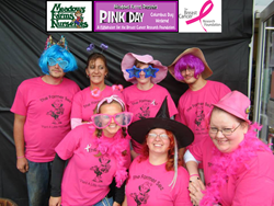 Meadows Farms PINK DAY 2014