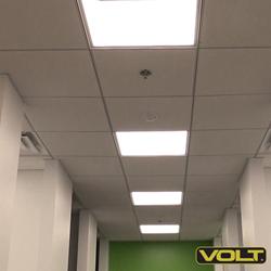 VOLT® Lighting LED Flat Ceiling Panel lights - edge-lit