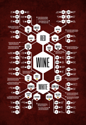 Wine Diagram Print