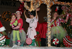 Floats wind their way through downtown Athens each year during the annual lighted Christmas Parade. The Christmas Parade will take place at 6:30 p.m. on December 6 in downtown Athens.