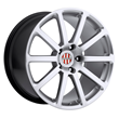 Porsche Wheels by Victor Equipment - the Zehn in Silver