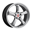 Porsche Wheels by Victor Equipment - the Turismo in Silver