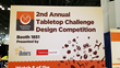 Designers from all over the United States and Great Britain competed in the 2nd year of this exciting tabletop design competition.