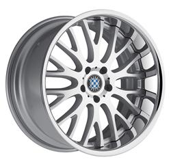 Aftermarket BMW Wheels by Beyern - the Munich in Silver