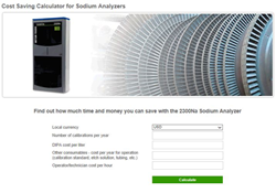 METTLER TOLEDO Thornton Introduces Cost Calculator for Sodium Analyzers